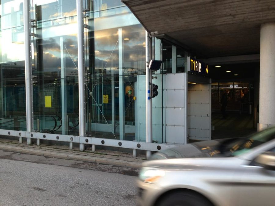 Automatic taxi dispatching Vantaa Airport RFID solution