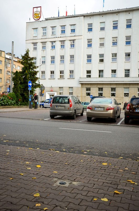Tri-city smart parking poland 2