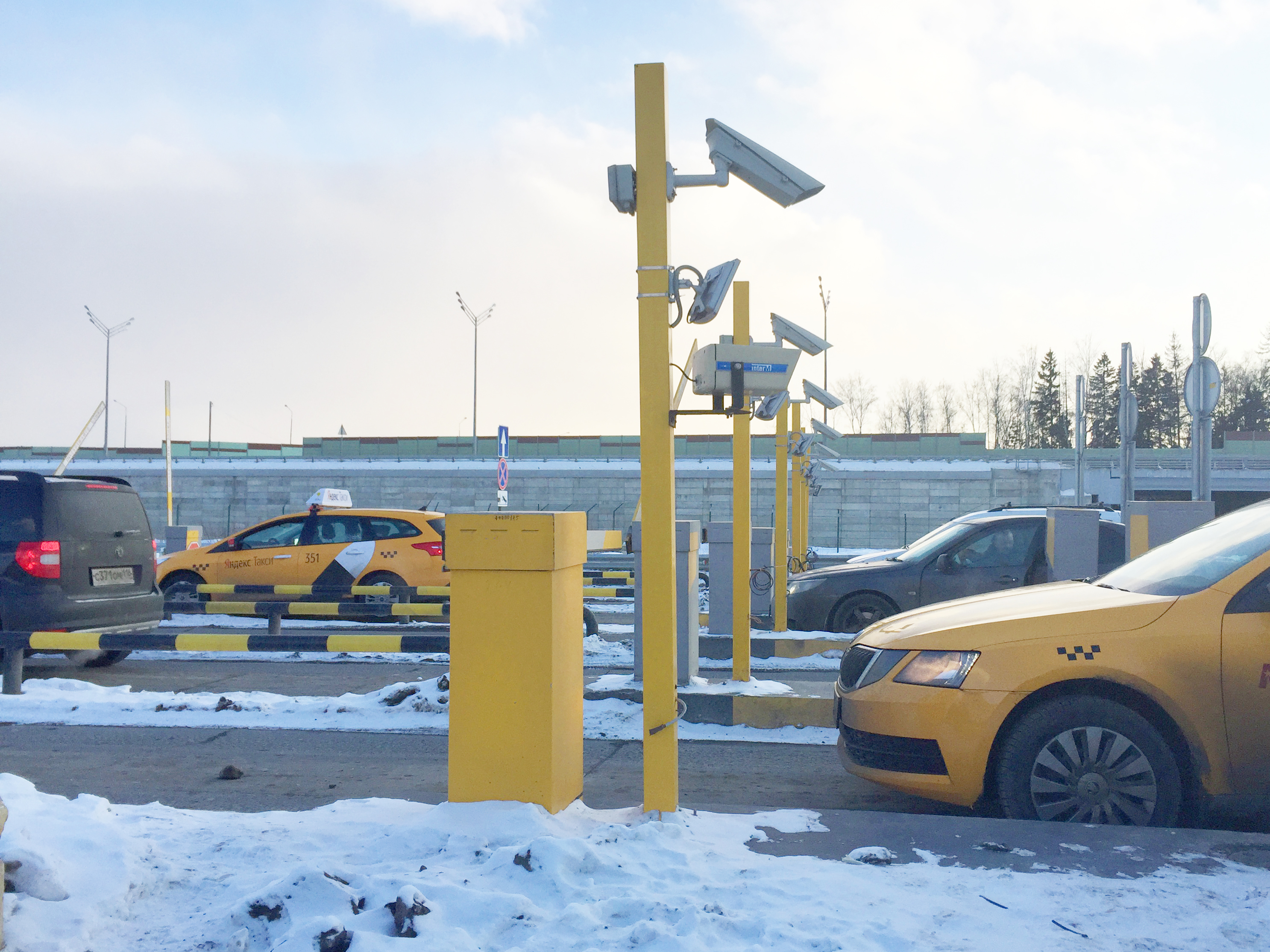 Nedap enables Yandex Taxi services at Moscow airport - Nedap